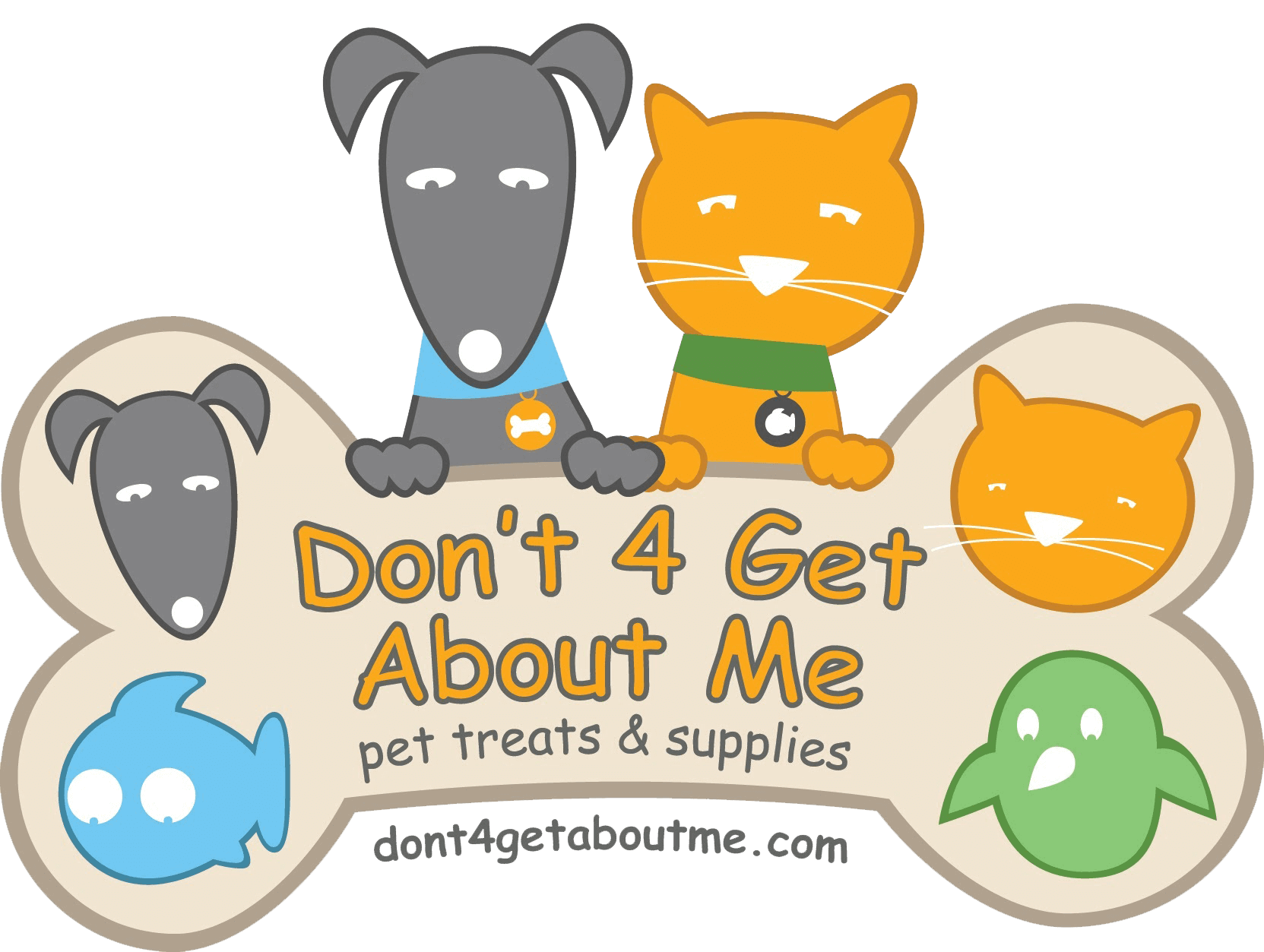 Don't 4 Get About Me, pet treats & supplies